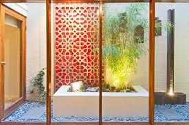 garden feature wall houzz