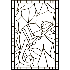 stained glass design shapes products for the mangaing dementia
