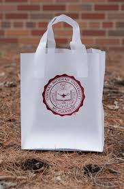 clear gift wrap clear frosted seal 8 x5 x10 gift bag the cmu bookstore