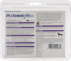 petarmor plus flea and tick treatment for medium dogs 3 monthly