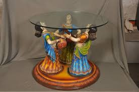 Bombay Home Decor Buy Three Lady Center Table Without Glass Online Craftsvilla