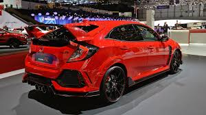 honda civic r the 2017 honda civic type r is a wonderful caricature of itself