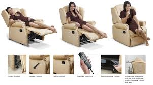 manual and electric reclining chairs electric recliners from the
