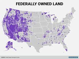 map of us federal states federal government land map business insider