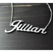 stainless steel name necklace images Stainless steel personalized name necklace k and d apparel jpg