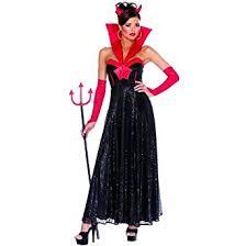 amazon com devil hollywood female black halloween costume