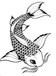 koi fish drawing outline google search fishy tattoo ideas