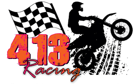 motocross racing logo 413 racing