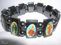 religious bracelet 20 wood jesus bracelets rosary stretch bracelet