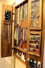 rustic jewelry armoire armoire jewelry organizer armoire rustic organization wall unit