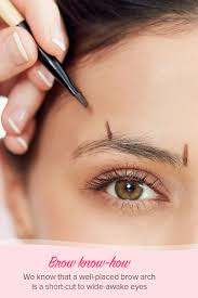 proper way to fill in eyebrows the best eyebrow shapes for your face and eye shape