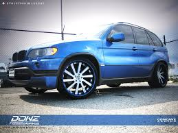 Bmw X5 Blue - donz guerra bmw x5 donz forged wheels