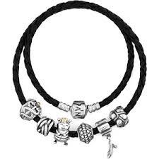 black silver pandora bracelet images Modern design black pandora bracelet amazon com 590705cbk s2 7 5 jpg