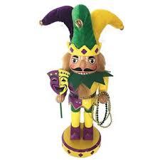 mardi gras nutcracker nutcracker figurine wayfair