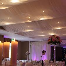 ceiling draping drapery roof drapes roof drapes wedding creative