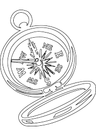 compass rose coloring pages download free printable coloring pages