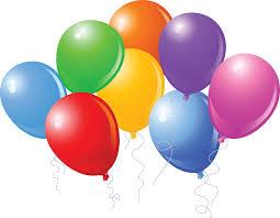 birthday balloons birthday balloons today is my birthday clip and birthdays on