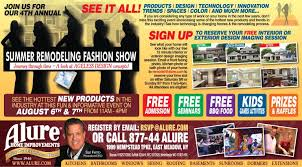 alure home improvements summer remodeling fashion show