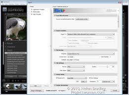 how to publish images from lightroom to flickr