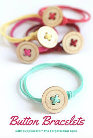 craft bracelet images Button bracelet craft all things target png