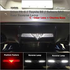 led backup light bar f1 style rear light bar for subaru brz and scion frs and gt86 blog