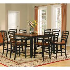 steve silver monarch 9 piece counter height dining table set with