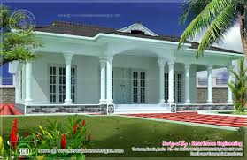 1600 sq ft single story 3 bed room villa kerala home design and