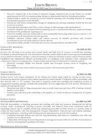 financial analyst resumes senior financial analyst resume sle