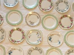 mismatched plates wedding 30 x vintage mismatched side plates shabby chic tea party wedding