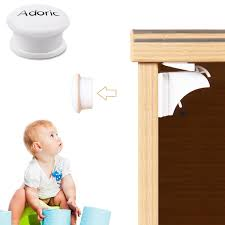 Baby Cabinet Locks Magnetic Adoric Adoric Baby Safety Magnetic Cabinet Locks