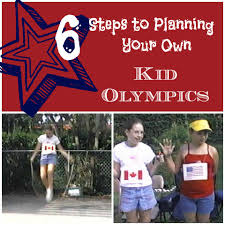 How To Plan Your Backyard How To Produce A Backyard Olympics With Your Kids My Kids