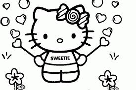 imagenes de amor para dibujar grandes dibujos para colorear de hello kitty grandes az dibujos para colorear