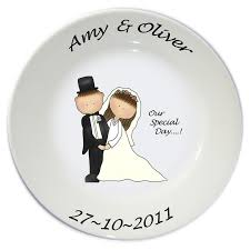 and groom plates groom theme wrappings