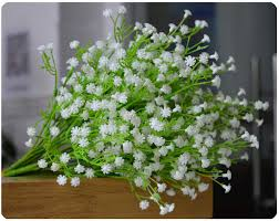 baby s breath flowers artificial flowers gypsophila baby s breath silk flower plant for