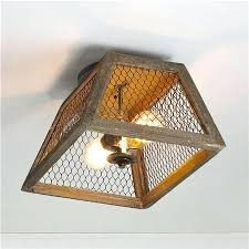 Wire Light Fixtures Dazzling Ideas Diy Ceiling Light Fixtures Charming Chicken Wire