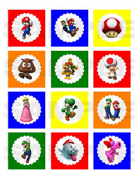 super mario bros party ideas diy mario brothers printable