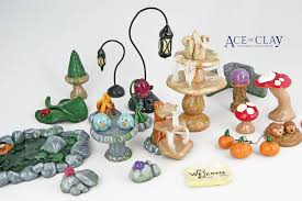 Mini Fairy Garden Ideas by Miniature Fairy Garden Accessories Wave 2 Custom Sculptures