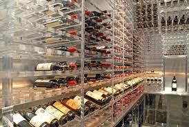 acrylic wine cellar racks architectural plastics