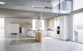 cuisine sol blanc idée relooking cuisine modèle de cuisine moderne en blanc neige