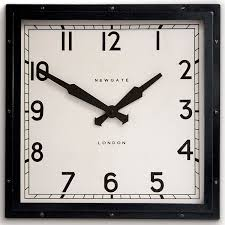 buy square wall clock square wall clock refined elegance