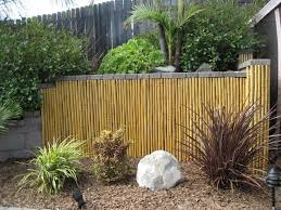 Different Types Of Fencing For Gardens - 13 best natural bamboo fencing images on pinterest fence panels