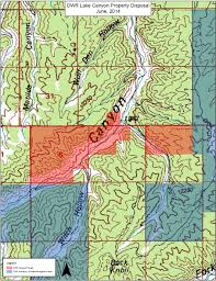 Wasatch County Parcel Map Lake Canyon Dwr Property Trust Lands Administration