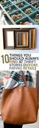 10 things you should always find at thrift stores before paying