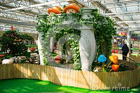 indoor vine asia china beijing agricultural carnival indoor exhibition hall