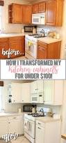 How Do You Paint Kitchen Cabinets Best 25 Painting Oak Cabinets White Ideas On Pinterest Painted