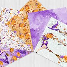 scrapbook halloween background halloween scrapbook halloween paper pack autum fall background