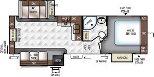 5th Wheel Camper Floor Plans by New Or Used Fifth Wheel Campers For Sale Rvs Near Chicago