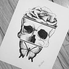 the 25 best skull butterfly tattoo ideas on pinterest mens arm