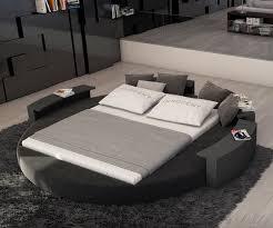 design bett rundbett ailina 180x200 schwarz polsterbett 180 cm design bett