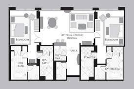 Mgm Signature One Bedroom Balcony Suite Floor Plan Mgm Signature Two Bedroom Suite Floor Plan Memsaheb Net